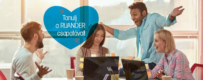 Tanulj a RUANDER csapatával